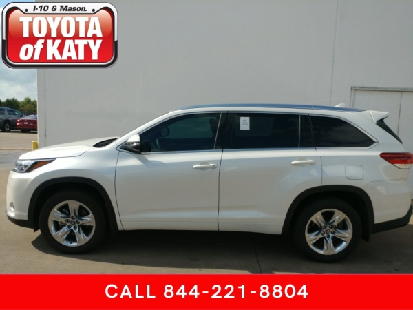 Toyota Of Katy >> 2018 Toyota Highlander Limited V6 Fwd For Sale In Katy Tx