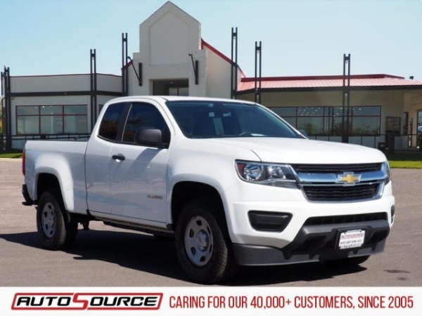 Chevrolet Colorado Springs >> 2018 Chevrolet Colorado Work Truck Extended Cab Standard Box