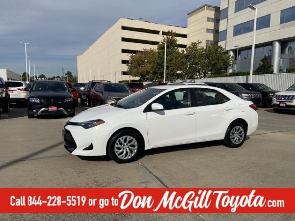 2019 Toyota Corolla in Houston, TX