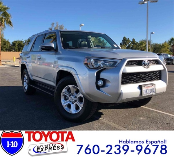 2016 Toyota 4Runner in Indio, CA