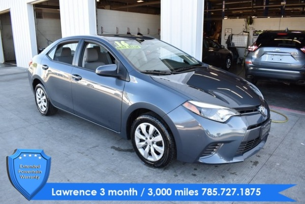 Toyota Dealers In Kansas >> Used Toyota Corolla For Sale In Topeka Ks 290 Cars From