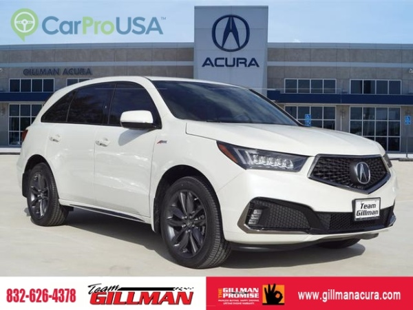 2019 Acura MDX SH-AWD with A-Spec/Technology Package