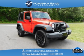 Jeeps For Sale In Md >> Used Jeep Wranglers For Sale In Dunkirk Md Truecar
