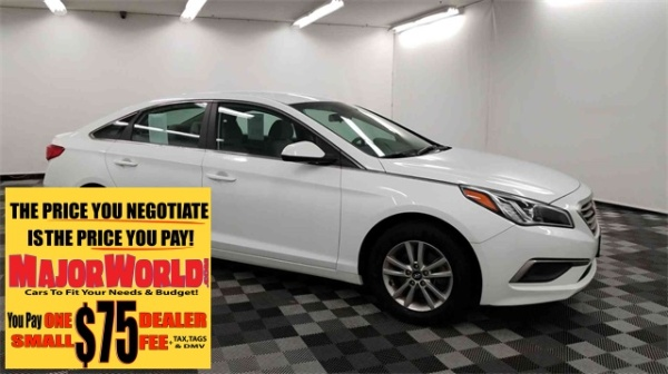 Hyundai Long Island City >> 2017 Hyundai Sonata Base 2 4l Pzev For Sale In Long Island City