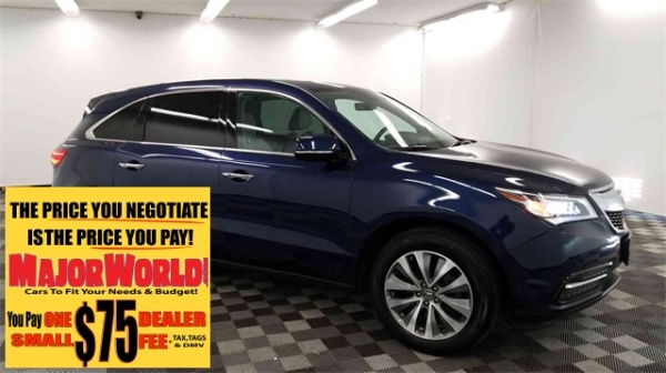 Acura Dealers Long Island >> 2016 Acura Mdx Sh Awd With Technology Package For Sale In Long