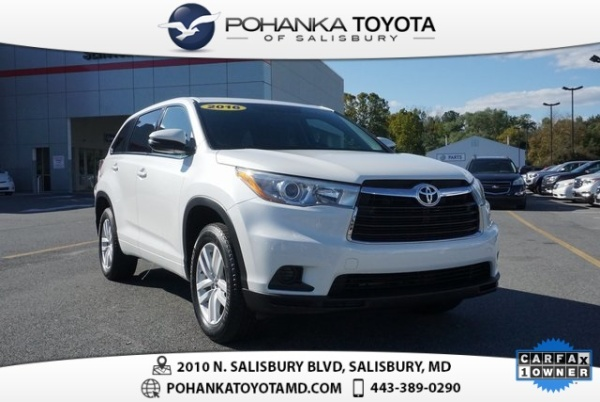 2016 Toyota Highlander in Salisbury, MD