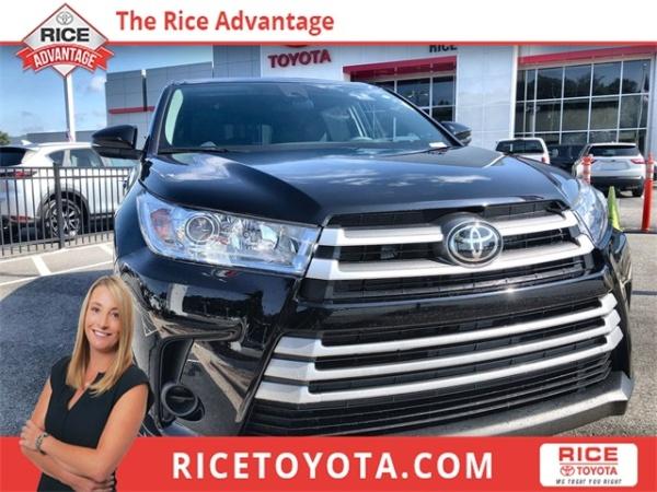 2019 Toyota Highlander in Greensboro, NC