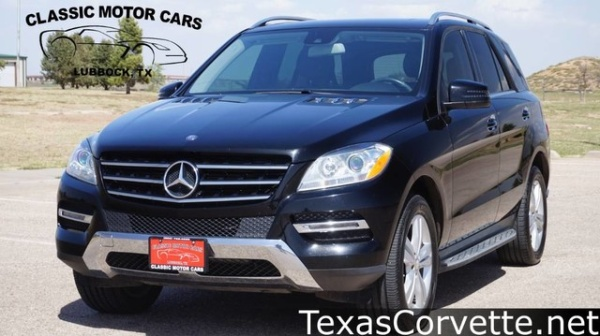2014 Mercedes-Benz M-Class ML 350 4MATIC For Sale in Lubbock