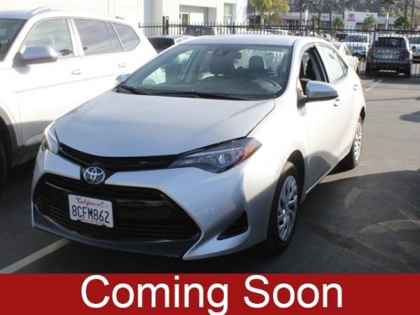 2018 Toyota Corolla in Moreno Valley, CA