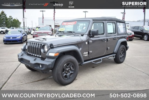 2018 Jeep Wrangler in Conway, AR