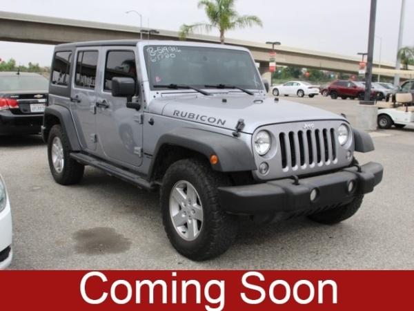 2017 Jeep Wrangler in San Bernardino, CA