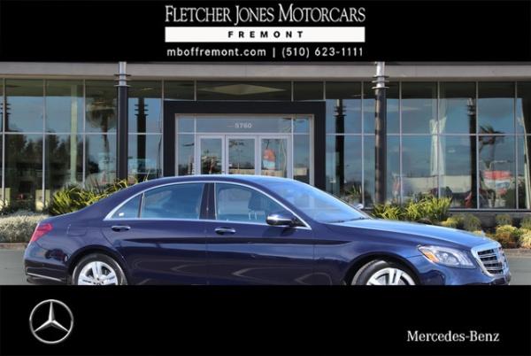 2019 Mercedes-Benz S S 450