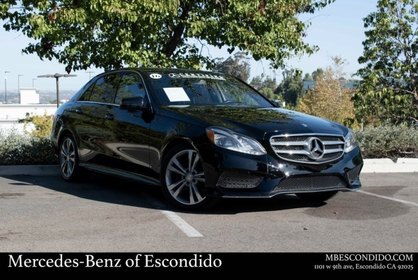 2016 Mercedes-Benz E-Class in Escondido, CA