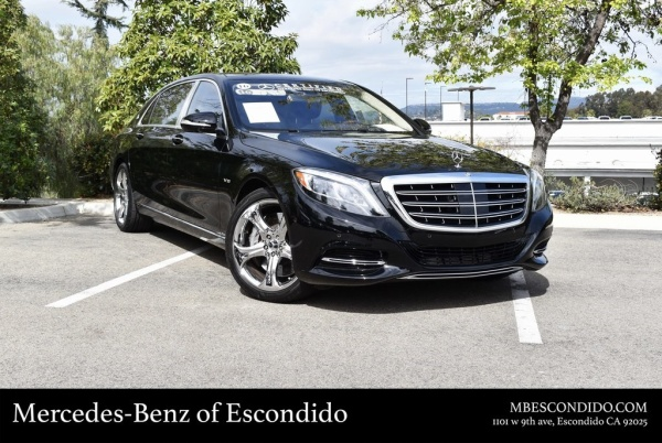 2016 Mercedes-Benz S Maybach S 600