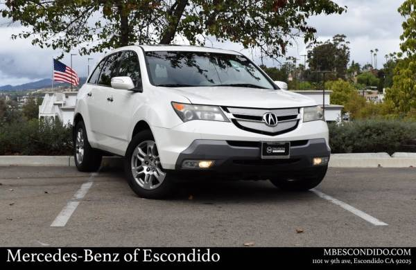 2009 Acura MDX with Entertainment/Technology Package