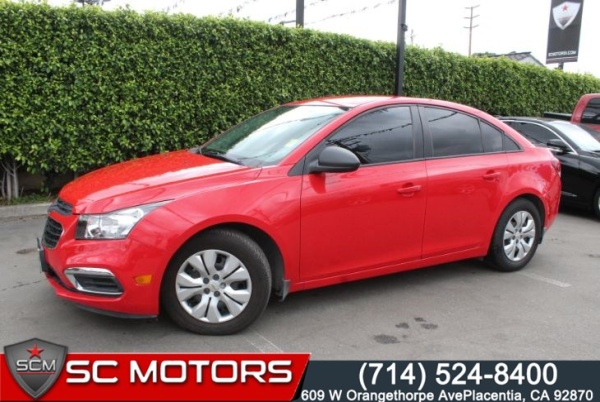 2016 Chevrolet Cruze Limited in Placentia, CA