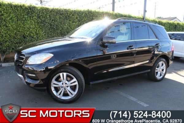 2015 Mercedes-Benz M-Class in Placentia, CA