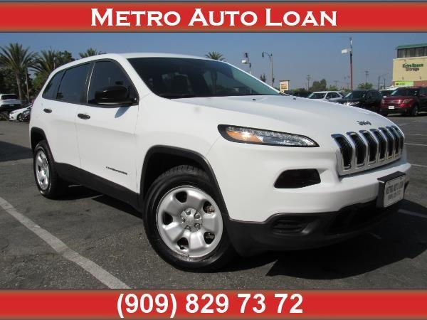 2016 Jeep Cherokee in Fontana, CA