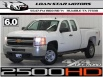 2012 Chevrolet Silverado 2500HD WT Extended Cab Long Box 4WD for Sale in Humble, TX