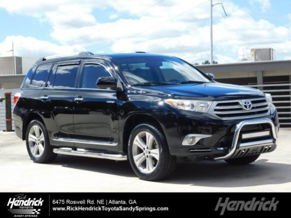 2012 Toyota Highlander Hybrid Dealer Inventory In Atlanta, GA (30301)  [change Location]