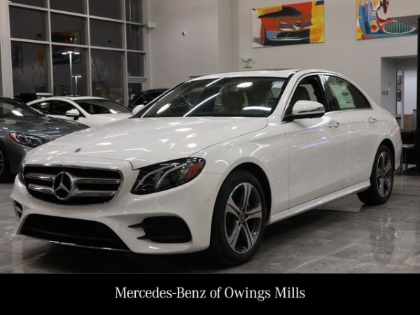 Mercedes Owings Mills >> 2019 Mercedes Benz E Class E 300 Sedan 4matic For Sale In