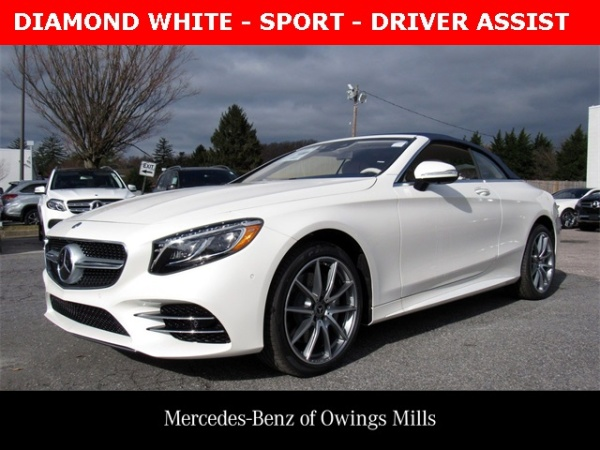 Mercedes Owings Mills >> 2019 Mercedes Benz S Class S 560 Cabriolet Rwd For Sale In