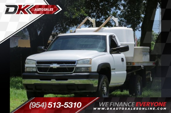 2006 Chevrolet Silverado 2500hd Ls Regular Cab Long Box 2wd