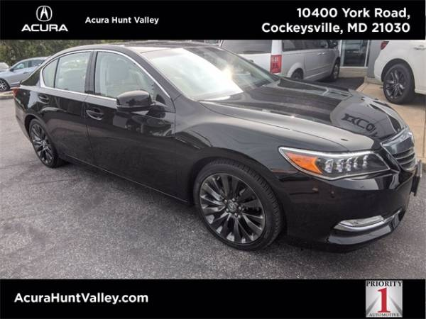 2017 Acura RLX FWD with Advance Package