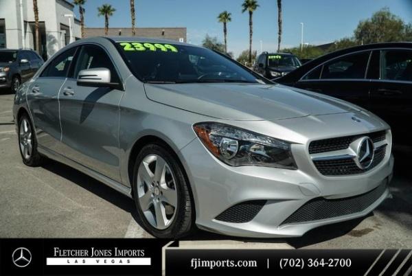 2016 Mercedes-Benz CLA in Las Vegas, NV