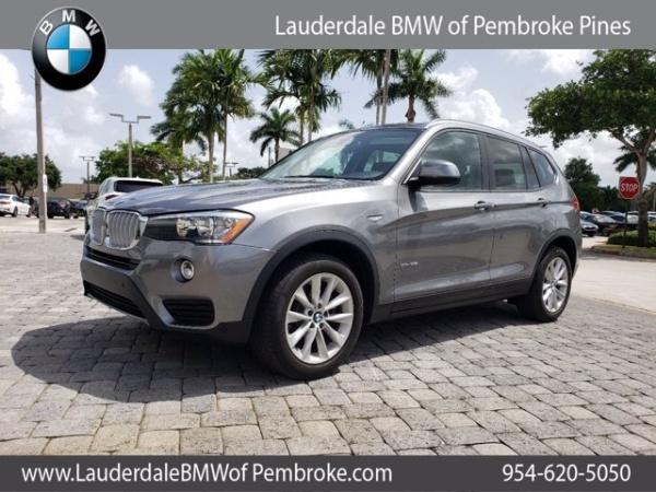 2017 BMW X3 in Fort Lauderdale, FL