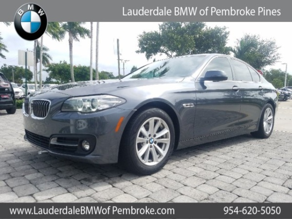 2016 BMW 5 Series in Fort Lauderdale, FL
