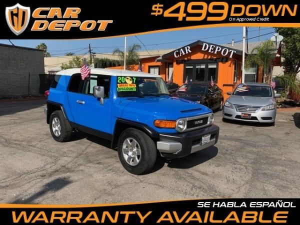 Truecar Used Cars >> 2007 Toyota FJ Cruiser RWD Automatic For Sale in PASADENA, CA | TrueCar