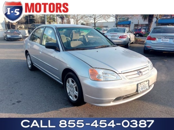2002 honda civic lx manual sedan