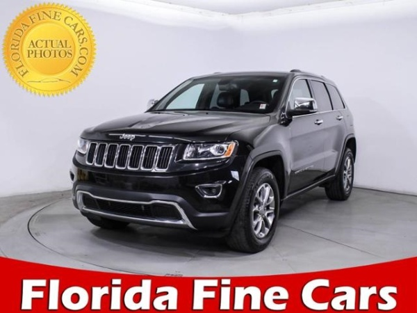 2015 Jeep Grand Cherokee in Hollywood, FL