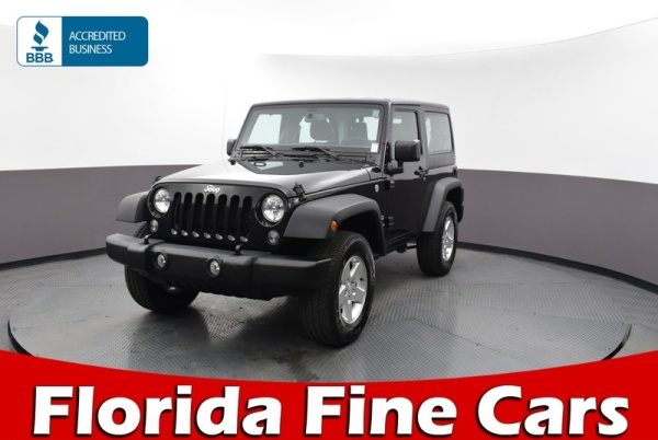 2016 Jeep Wrangler in Hollywood, FL