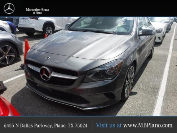 2018 Mercedes-Benz CLA in Plano, TX