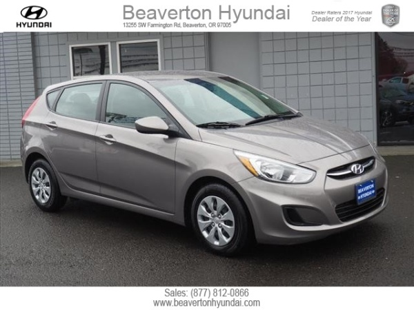 Hyundai Accent SE Hatchback Automatic