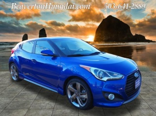 Hyundai Veloster Turbo with Black Interior Manual