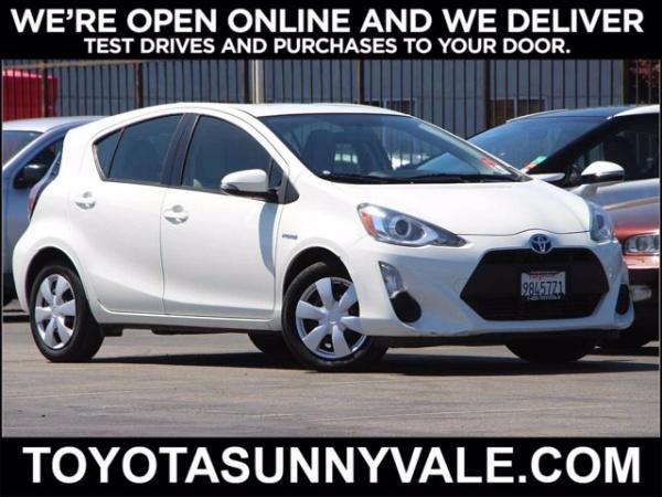 2015 Toyota Prius c in Sunnyvale, CA
