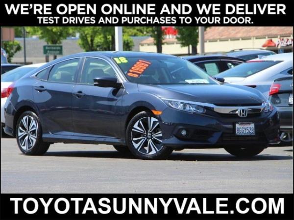 2018 Honda Civic in Sunnyvale, CA