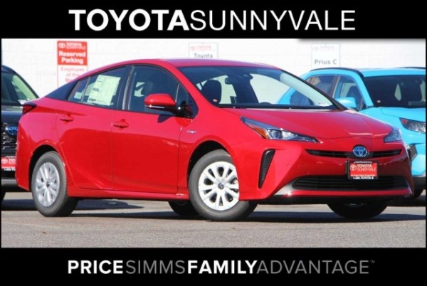 2020 Toyota Prius in Sunnyvale, CA
