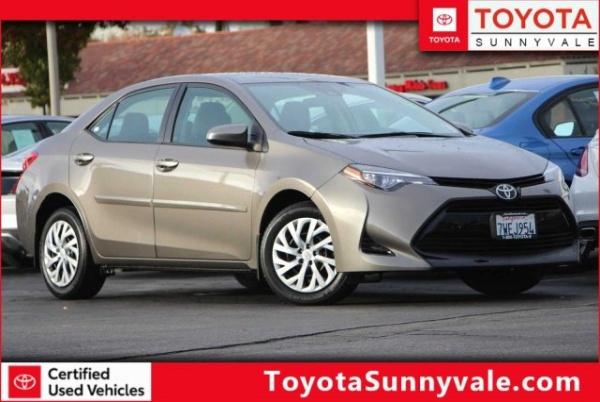 2017 Toyota Corolla in Sunnyvale, CA