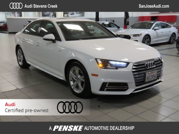 2018 Audi A4 in San Jose, CA