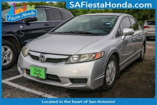 Used 2010 Honda Civic Hybrid Sedan I4 CVT For Sale In San Antonio, TX