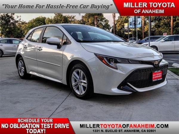 2020 Toyota Corolla Hatchback in Anaheim, CA