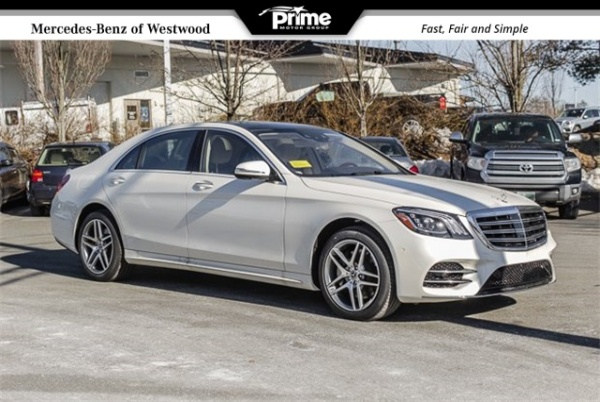 2019 Mercedes-Benz S-Class in Westwood, MA
