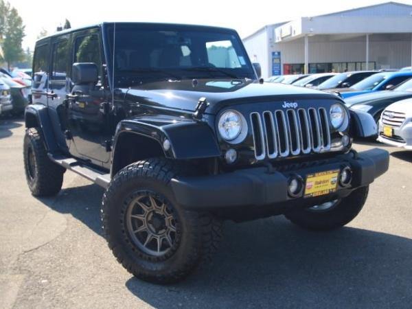 2017 Jeep Wrangler in Kirkland, WA