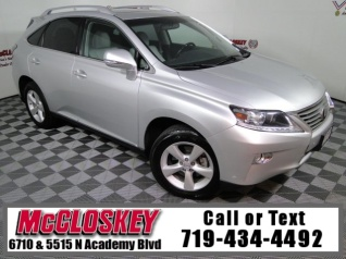 Used 2013 Lexus RX RX 350 FWD For Sale In Colorado Springs, CO