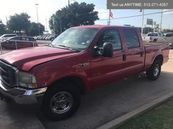 2004 Ford Super Duty F-250 Lariat Crew Cab 156