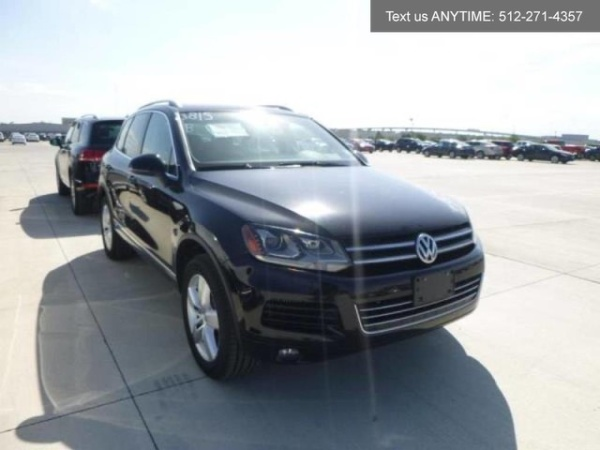 2011 Volkswagen Touareg TDI Executive